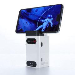 藍牙激光鐳射投影鍵盤+鼠標(套裝)+ 手機支架+移動電源     創意禮品