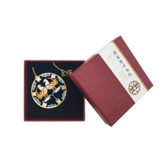 【成都博物馆】唐鸳鸯对鸟纹书签  美观实用 展会礼品送什么好