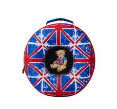 外交官(Diplomat )时尚可爱 儿童休闲双肩背包蓝色 儿童节礼品
