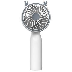 卡通手持小风扇 USB充电桌面立式便携风扇 促销活动礼品