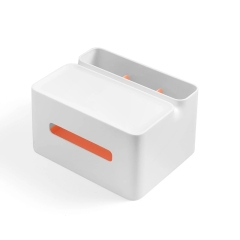 北欧简约纸巾盒收纳盒 双层收纳结实耐用 活动抽奖礼品推荐
