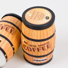 藍山風味咖啡豆 創意新鮮咖啡豆桶罐裝 創意商務禮品定制