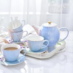 北欧印象茶具13件套D1901   发给员工的礼品