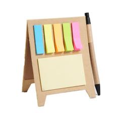 【1000起订】创意立体支架便签本便利贴组合 可定制广告笔记本 活动小礼品