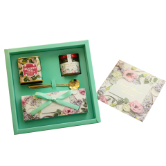 森系歐式創意禮盒套裝 蜂蜜+糖果禮盒 有什么可以作為公司禮物