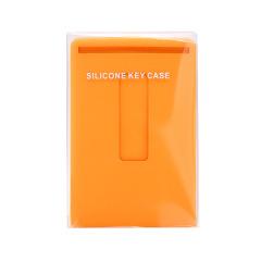 多功能抽拉式钥匙包 硅胶钥匙包卡包收纳套 展会小礼品