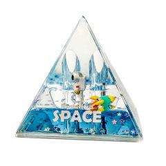 mysterious space太空人笔插收纳 流沙座 油漏笔插 办公桌面摆件 便宜的小礼品有哪些