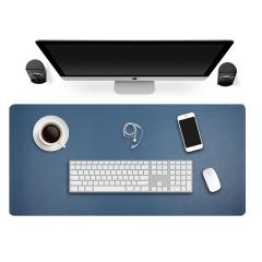 双面颜色超纤皮革鼠标垫 超大鼠标垫办公桌垫 创意商务礼品