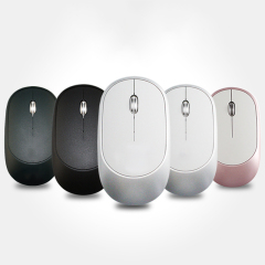 2.4G超薄静音无线鼠标 可充电办公家用笔记本电脑鼠标 企业活动礼品定制
