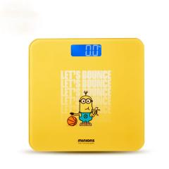 神偷奶爸小黄人 数码显示健康电子秤  运动会礼品