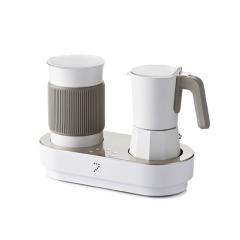 七次方 特色胶囊咖啡奶泡机摩卡壶套装 有逼格的商务礼物