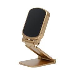 車載手機支架磁吸式貼片折疊通用儀表臺支架     汽車禮品