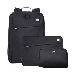 法国乐上(LEXON)商务笔记本背包内胆包收纳包三件套 商务礼品定制