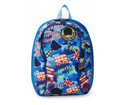 外交官(Diplomat) 时尚可爱 儿童休闲背包 蓝色 儿童节礼品定制