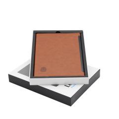 可充电多功能指纹解锁笔记本 支持USB无线两种充电方式 定制logo
