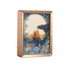 【故宫博物院】宫猫记紫禁月满纸雕灯 特色设计 会议纪念礼品