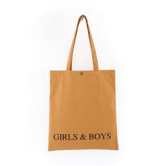 全棉铜按扣环保购物袋 简约便携 地推礼品有哪些