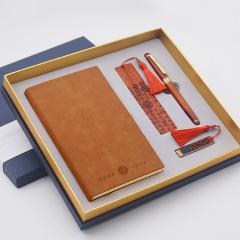 古意 流苏窗花u盘+红木书签+红木笔+笔记本礼盒套装 有什么实用的企业礼品
