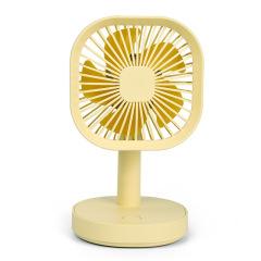 台式简约夜灯风扇 迷你桌面小台扇 办公桌面小礼品