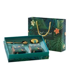 秘境森林茶包礼盒 茉莉绿茶草莓红茶蜂蜜花茶组合 公司生日礼物买什么