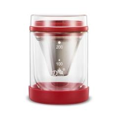 家用双层玻璃冷萃咖啡壶 冷热双用滴漏咖啡壶 精致礼品