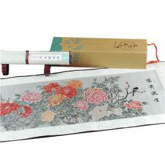 《富贵满堂》丝绸织锦画 真丝织锦 中国文化礼品