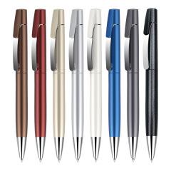 塑料广告笔 顺滑书写不易洇墨创意中性笔水笔0.5mm蓝黑笔 宣传活动小礼品