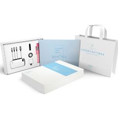 Recci 尊享禮盒青春版 一拖三數據線移動電源精靈充電器 自拍桿手機指環藍牙耳機  青春版禮盒套裝 精美數碼小禮品