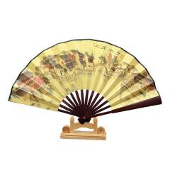 【江南水乡】水墨画折扇 木质绢布小扇子8寸 营销活动小礼品