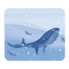 双面皮质鼠标垫230*200(mm) 创意卡通防水耐脏鼠标垫 活动礼品