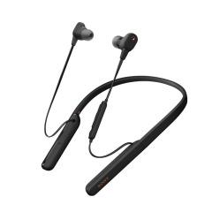 索尼 颈挂式无线蓝牙耳机 高音质降噪耳麦主动降噪 入耳式手机通话 黑色