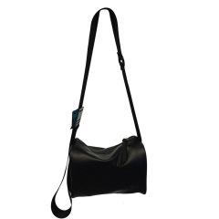單肩包斜挎包簡約韓版小圓筒包男女水桶包ins背包時尚休閑圓柱形 公司宣傳贈品