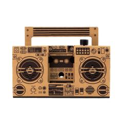 創意環保DIY折紙復古音響 組裝音箱 公司年會實用小禮品