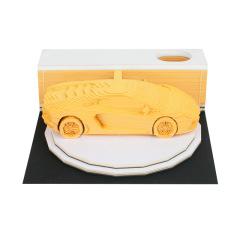 兰博基尼汽车模型3d便签本 简约设计 实用活动奖品