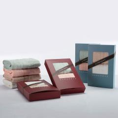 竹印象 小糖果毛巾2条装 祥和四季礼盒 小礼品加工