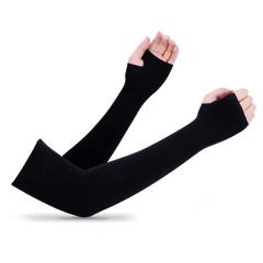 【来图定制】纯色冰袖定制 男女通用防晒袖套 防紫外线冰丝袖套