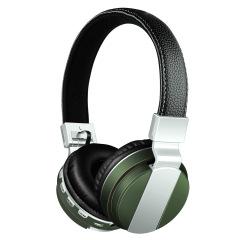 高端重低音頭戴式耳麥 無線藍牙耳機 帶插卡 FM收音 金融行業禮品 歌唱比賽獎品