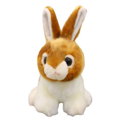 仿真兔子公仔 可爱毛绒玩具玩偶 创意年会周年庆礼品