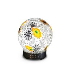 家用超声波创意七彩香薰小夜灯 独特设计 桌面摆件