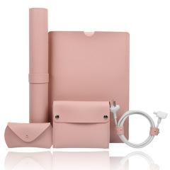 Macbook专属简约组合5件套 15寸笔记本内胆包 创意商务礼品