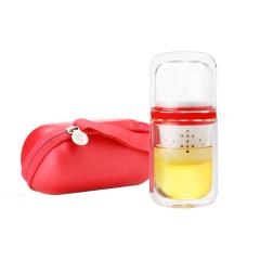 【乐上】现代简约旅行茶具套装 纪念品礼品 周年庆送什么礼品