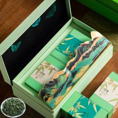 【咏春】明前碧螺春茶叶礼盒套装 浓香型 公司送客户的礼品