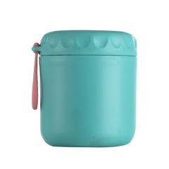 简约不锈钢早餐汤杯 早餐粥罐 上班便当盒 手提便携水杯