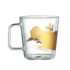 【中国国家博物院】百鹿尊玻璃杯 复古时尚 商务礼品