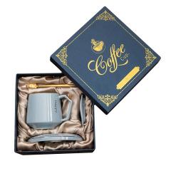 多件组合咖啡杯牛奶杯子套装 陶瓷马克杯 年会抽奖礼品