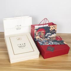 创意精美彩色印刷新年礼品包装茶叶礼盒天地盖    创业礼品创意礼品