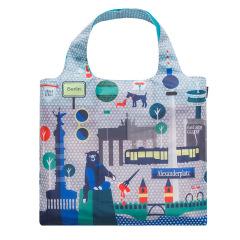 周游世界 时尚旅行环保便携购物袋 可收纳折叠轻便春卷包 活动礼品