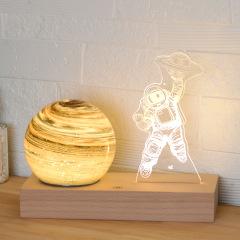 宇航员星空星球灯 创意太空人月亮灯台灯 创意奇特礼品