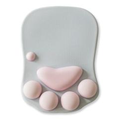 护腕猫爪鼠标垫 柔软透气硅胶填充 活动创意小礼品