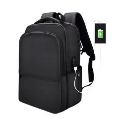 带USB接口双肩包 防水男女同款笔记本背包 公司员工生日礼物